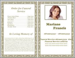 funeral memorial programs pink bricked theme funeral memorial program word by sammbither