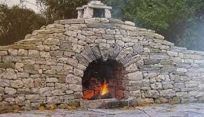 Outdoor Fieldstone Fireplace - dry stack stone fireplaces superb craftsmanship centuries in