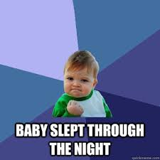 Baby Sleep Meme - how to get your infant to sleep at nighttiny milk coma tiny milk