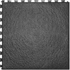 Dark Grey Tile Shop Perfection Floor Tile 6 Piece 20 In X 20 In Dark Gray Slate
