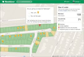 halloween just got easier nextdoor debuts halloween treat map