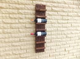 unique wood wine rack 36 x 8 x 4 unique