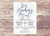 5x7 Love Anchors The Soul - invitations stationery 30 weddbook