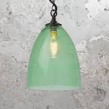 green glass pendant lights coloured glass pendant lights cl 26910 e2 contract lighting uk