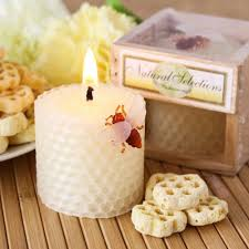 candles and favors honeycomb candle favors