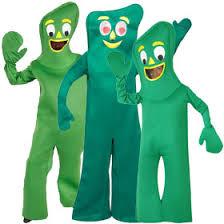 Gumby Halloween Costume Classic Cartoon Costumes Cartoon Costumes Brandsonsale