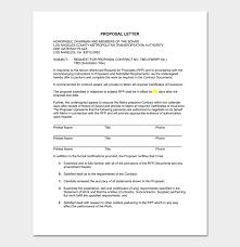doc 600842 format for proposal letter u2013 32 sample business