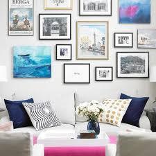 art over sofa transitional living room nastasi vail design