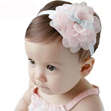 baby flower headbands babyflower headband handmade girl lace hair band kid headband
