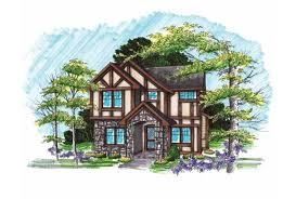 eplans tudor house plan european style with a modern twist