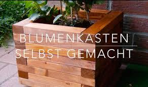 blumenkasten holz balkon diy blumenkasten aus holz kinderleicht bauen