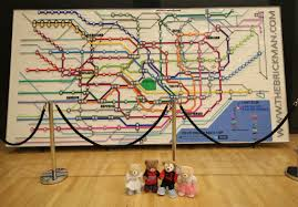 Tokyo Metro Route Map by Cars 4 Pufflesandhoneyadventures