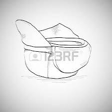 drawing caps sketch baseball cap lying on the floor upside down