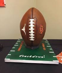 football cake top football cakes cakecentral