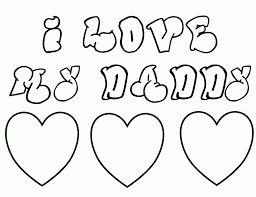 heart coloring pages fathers day coloringstar