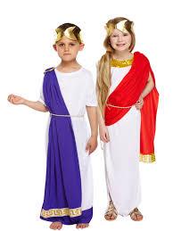 Goddess Halloween Costume Kids Kids Girls Boys Greek Roman Toga Fancy Dress Costume Goddess