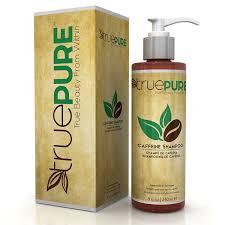 amazon com truepure natural caffeine shampoo with coffeepure