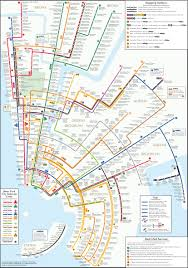 Nyc Maps Usa New York San Fransisco Train Rail Maps