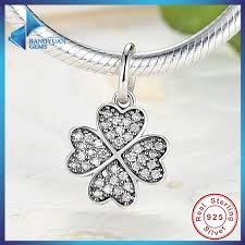 lucky leaf bracelet images Happiness four leaf clover pendant charms fit original bracelet jpg