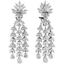 fabulous earrings style fabulous diamond chandelier earrings for sale at