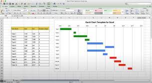 Excel Template Gantt Chart Free Excel Gantt Chart Template Business Plan Template