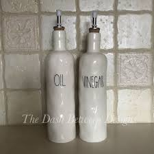rae dunn rae dunn inspired oil and vinegar decals the dash between designs