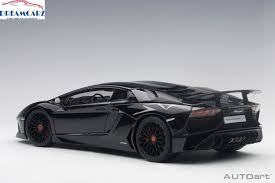 lamborghini aventador lp 750 4 superveloce 74556 autoart 1 18 lamborghini aventador lp750 4 sv black ebay