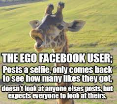Facebook Meme Creator - meme creator the ego facebook user posts a selfie only comes