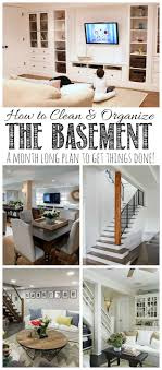how to spring clean your house in a day how to clean and organize the basement clean and scentsible