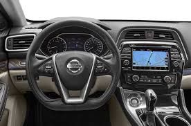 nissan sedan 2016 interior 2016 nissan maxima price photos reviews u0026 features