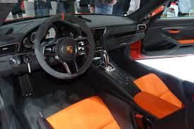 porsche gt3 gray 2015 geneva motor show porsche 911 gt3 rs and cayman gt4