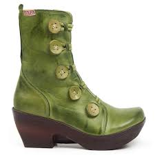 womens boots green leather green leather boots for jafa 671 boots from