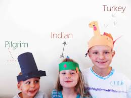 thanksgiving indian costume crafts with kids thanksgiving paper hats