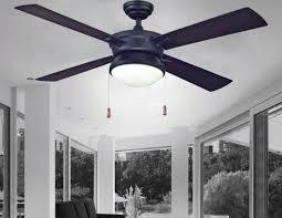 Ceiling Fan Bottom Cap Turn Of The Century Latitude 52 U0027 U0027 Matte Black Contemporary