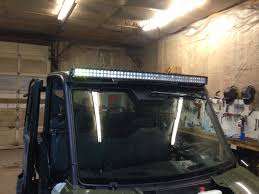 50 Curved Led Light Bar by Mounting 50