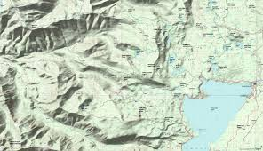 Oregon Topographic Map by Blair Lake Trail 3553 Erma Bell Lakes Trail 3563 Jack Pine Way