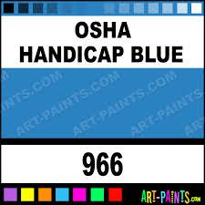 osha handicap blue heavy duty auto spray paints 966 osha