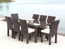 wicker dining table with glass top wicker outdoor dining furniture dining tables wicker outdoor dining