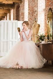 two color wedding dress bridal skirt norma j two wedding dress wedding