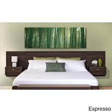 Platform Bed With Nightstands Attached Platform Bed With Built In Nightstands 2017 And Bedroom Ikea