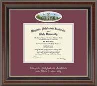 virginia tech diploma frame of houston downtown diploma frame craft