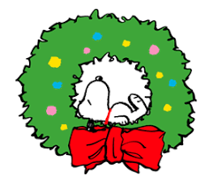 snoopy christmas stickers emojis gif stickers free
