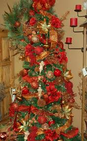 gold tree lights decoration