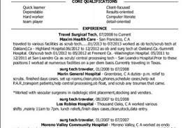 Surgical Tech Resume Samples by Surgical Tech Resume Sample Tech Resume Samples Radiology Tech