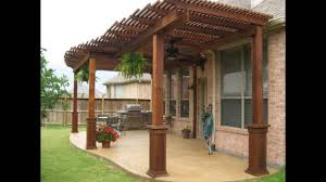 Great Patio Designs by Simple Patio Cover Wood With Additional Interior Home Design Style