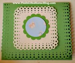 How To Make Punch Cards - 71 best card ideas martha stewart punch around the page images on