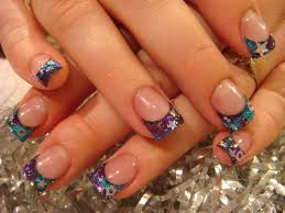 colorful nail designs acrylic nails how you can do it at home