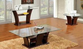 furniture glass coffee table set design ideas with wooden