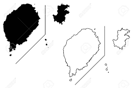 map of sao tome sao tome and principe map vector illustration scribble sketch
