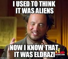 Mtg Memes - eldrazi ancient aliens imgflip